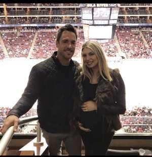 James attended Arizona Coyotes vs. Columbus Blue Jackets - NHL on Nov 7th 2019 via VetTix