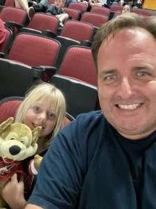 Joe attended Arizona Coyotes vs. Columbus Blue Jackets - NHL on Nov 7th 2019 via VetTix