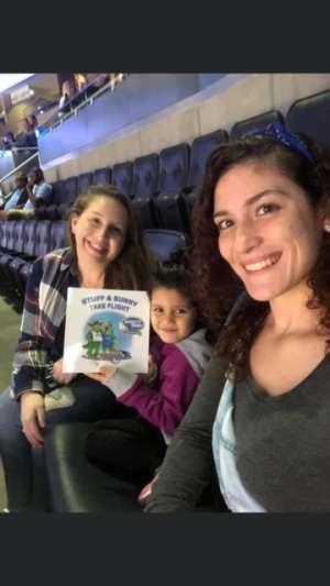 VALENTINA attended New Jersey Devils vs. Minnesota Wild - NHL on Nov 26th 2019 via VetTix