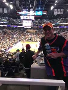 Colin attended Phoenix Suns vs. Miami Heat - NBA on Nov 7th 2019 via VetTix