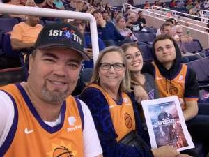 Jack attended Phoenix Suns vs. Miami Heat - NBA on Nov 7th 2019 via VetTix
