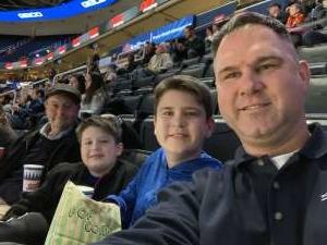 Richard attended Georgetown Hoyas vs. UNC Greensboro - NCAA Basketball on Nov 30th 2019 via VetTix