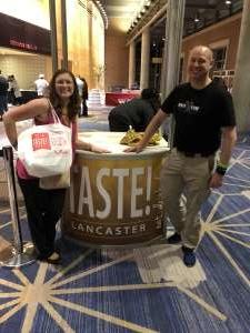 Eric attended 2019 Taste! Lancaster - Friday on Nov 15th 2019 via VetTix