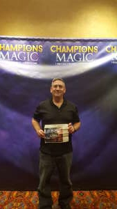 michael attended Champions of Magic on Nov 15th 2019 via VetTix