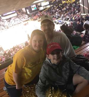 Robert attended Vanderbilt Commodores vs. Tulsa Hurricanes - NCAA Men's Basketball on Nov 30th 2019 via VetTix