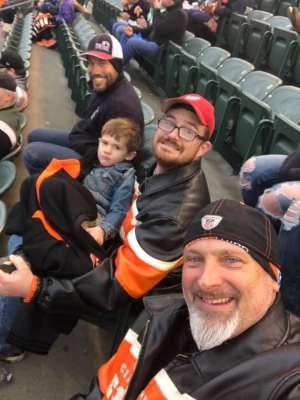 Jerry attended Cincinnati Bengals vs. New York Jets - NFL on Dec 1st 2019 via VetTix