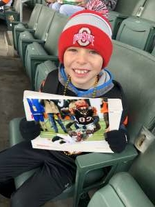 Chad attended Cincinnati Bengals vs. New York Jets - NFL on Dec 1st 2019 via VetTix