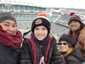 Matthew attended Cincinnati Bengals vs. New York Jets - NFL on Dec 1st 2019 via VetTix