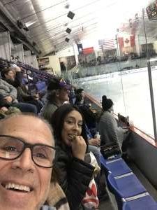 Chuck attended Lone Star Brahmas vs Amarillo Bulls - NAHL on Nov 30th 2019 via VetTix