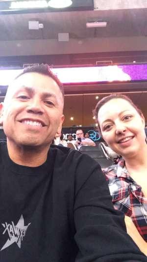 Daniel attended Phoenix Suns vs. Atlanta Hawks - NBA on Nov 14th 2019 via VetTix
