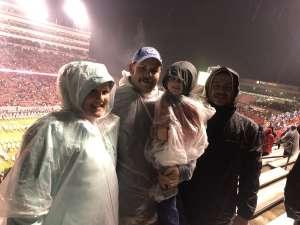 Robert attended North Carolina State vs. University of North Carolina - NCAA Football on Nov 30th 2019 via VetTix