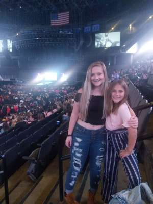 Kaci attended Jonas Brothers: Happiness Begins Tour on Dec 4th 2019 via VetTix