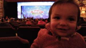 Rocky attended Rudolph the Red-nosed Reindeer the Musical (touring) on Dec 1st 2019 via VetTix