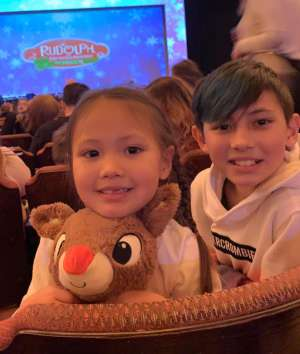 Chantelle attended Rudolph the Red-nosed Reindeer the Musical (touring) on Dec 1st 2019 via VetTix