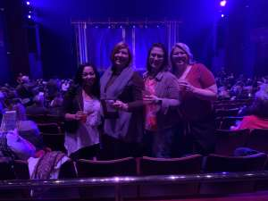 Reid attended SIX: Presented by Ordway Center for the Performing Arts on Dec 1st 2019 via VetTix