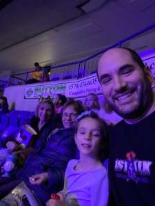 Tom attended Disney on Ice Presents Worlds of Enchantment on Jan 15th 2020 via VetTix