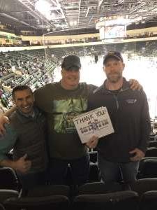 Jeffrey attended Texas Stars vs Milwaukee Admirals - AHL on Dec 3rd 2019 via VetTix