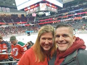 Thomas attended New Jersey Devils vs. Vegas Golden Knights NHL on Dec 3rd 2019 via VetTix
