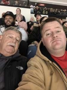Gregory attended New Jersey Devils vs. Vegas Golden Knights NHL on Dec 3rd 2019 via VetTix
