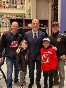 Jason attended New Jersey Devils vs. Vegas Golden Knights NHL on Dec 3rd 2019 via VetTix