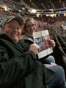 Steve attended New Jersey Devils vs. Vegas Golden Knights NHL on Dec 3rd 2019 via VetTix