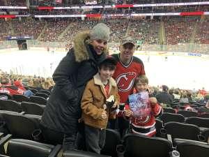 Randy attended New Jersey Devils vs. Vegas Golden Knights NHL on Dec 3rd 2019 via VetTix
