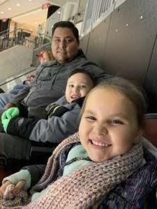Sergio attended New Jersey Devils vs. Vegas Golden Knights NHL on Dec 3rd 2019 via VetTix