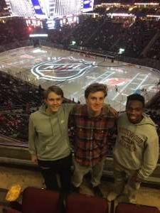 William attended New Jersey Devils vs. Vegas Golden Knights NHL on Dec 3rd 2019 via VetTix