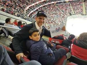 Dovid attended New Jersey Devils vs. Vegas Golden Knights NHL on Dec 3rd 2019 via VetTix