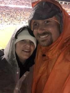 Garrett attended University of Tennessee Vols vs. Vanderbilt - NCAA Football - Read Notes Before Claiming on Nov 30th 2019 via VetTix