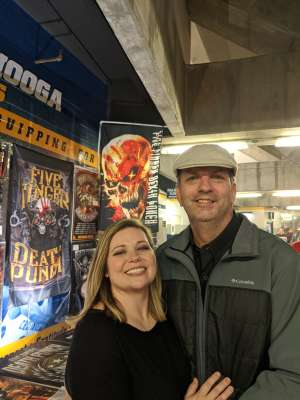Jami attended Five Finger Death Punch on Nov 23rd 2019 via VetTix