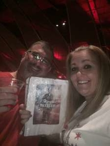 Stacie attended Il Divo: a Holiday Song Celebration on Dec 1st 2019 via VetTix