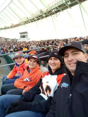 Matthew attended Cincinnati Bengals vs. Pittsburgh Steelers - NFL on Nov 24th 2019 via VetTix