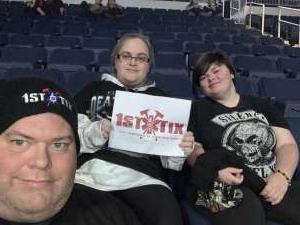 Thomas Harrell attended Five Finger Death Punch on Dec 2nd 2019 via VetTix