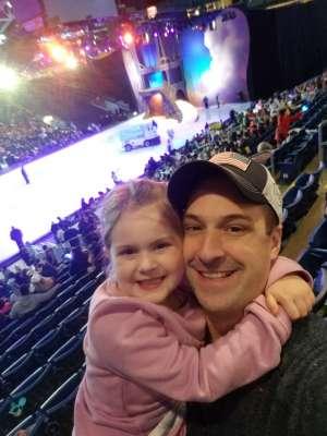 Ryan attended Disney on Ice Presents Dream Big on Jan 2nd 2020 via VetTix