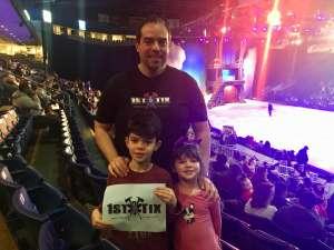 Jeff attended Disney on Ice Presents Dream Big on Jan 2nd 2020 via VetTix