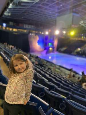 Anne attended Disney on Ice Presents Dream Big on Jan 2nd 2020 via VetTix