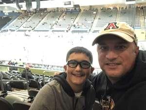 Eric attended Tucson Roadrunners vs. Colorado Eagles - AHL on Dec 3rd 2019 via VetTix