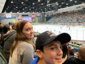 Stephen attended Tucson Roadrunners vs. Colorado Eagles - AHL on Dec 4th 2019 via VetTix