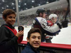 Jesus attended Tucson Roadrunners vs. Colorado Eagles - AHL on Dec 4th 2019 via VetTix