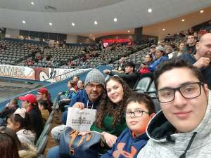 Rafael attended Tucson Roadrunners vs. Colorado Eagles - AHL on Dec 4th 2019 via VetTix