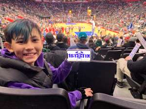 Chantelle attended Detroit Pistons vs. Cleveland Cavaliers - NBA on Jan 9th 2020 via VetTix