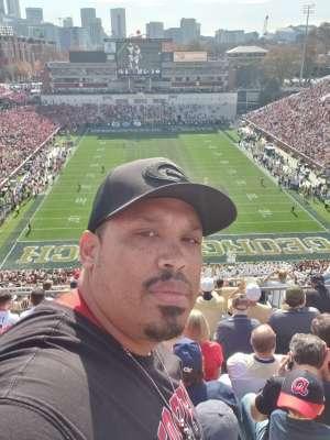 DeCarlos attended Georgia Tech vs. Georgia - NCAA Football on Nov 30th 2019 via VetTix