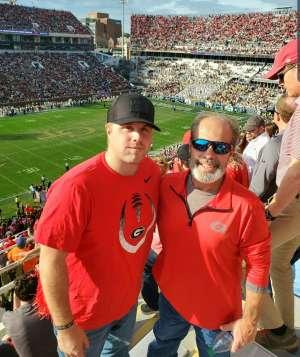 Brandon attended Georgia Tech vs. Georgia - NCAA Football on Nov 30th 2019 via VetTix