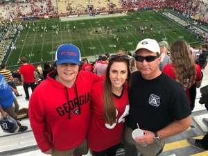 Kelly attended Georgia Tech vs. Georgia - NCAA Football on Nov 30th 2019 via VetTix