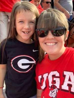 Morgan attended Georgia Tech vs. Georgia - NCAA Football on Nov 30th 2019 via VetTix