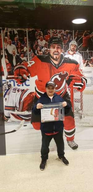 Erwin attended New Jersey Devils vs. Chicago Blackhawks - NHL on Dec 6th 2019 via VetTix