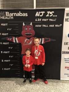 Ryan attended New Jersey Devils vs. Chicago Blackhawks - NHL on Dec 6th 2019 via VetTix