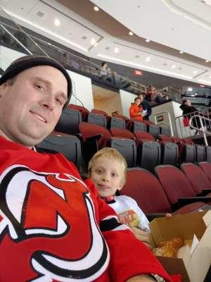 Kyle attended New Jersey Devils vs. Chicago Blackhawks - NHL on Dec 6th 2019 via VetTix