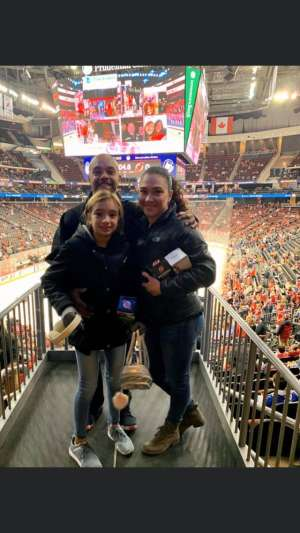 Alexandra attended New Jersey Devils vs. Chicago Blackhawks - NHL on Dec 6th 2019 via VetTix